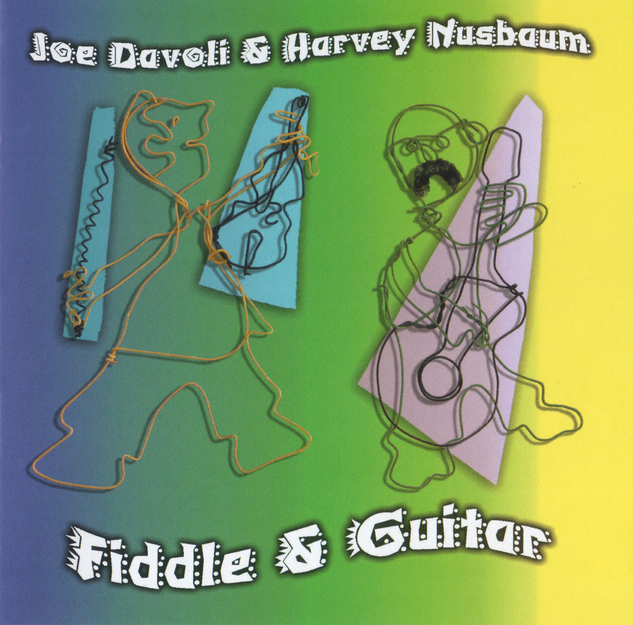 Joe Davoli & Harvey Nusbaum - Fiddle & Guitar